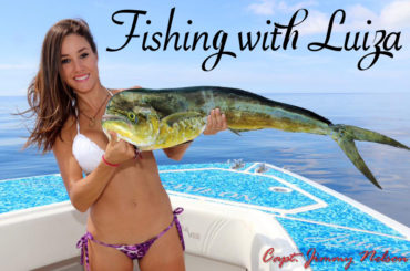 Fishing with Luiza