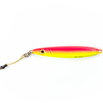 "Palomar Fishing Reeldiculous Jigs Flat Side ""Slammer"" Cotton Candy Glow"